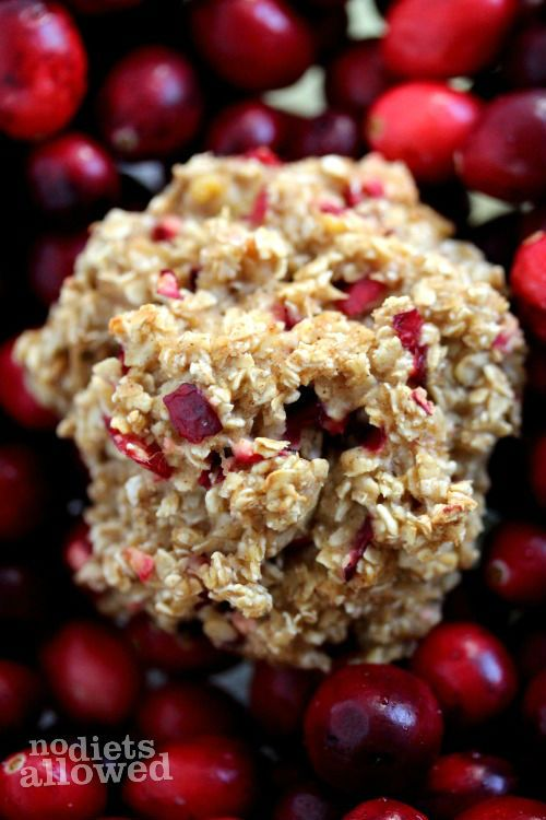 Healthy Oatmeal Breakfast Cookies http://www.nodietsallowed.com/healthy-oatmeal-breakfast-cookies/