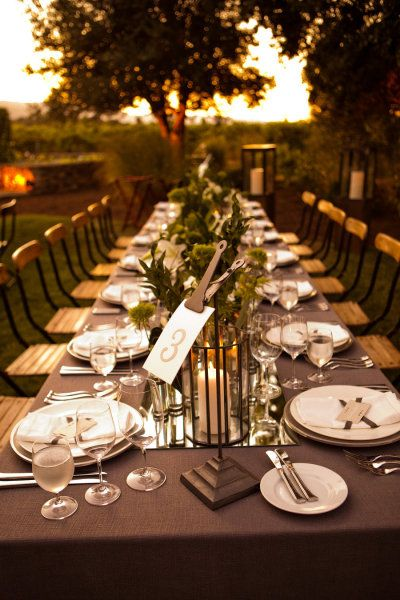 Napa Valley Wedding by Rosemary Events Part II + A Video by Lola Video