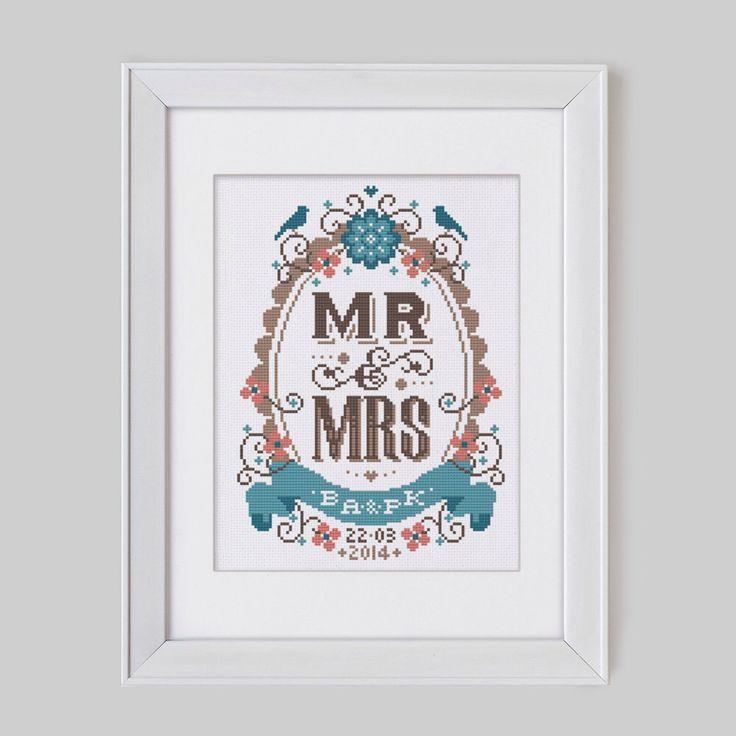 17 best Весільні метрики images on Pinterest   Cross stitches, Cross ...