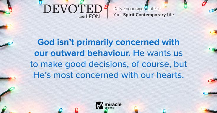 December 26 - God's Heart Is for You #MiracleChannel #Devoted #December