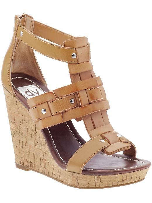 "DV ""tex"" wedge sandal"
