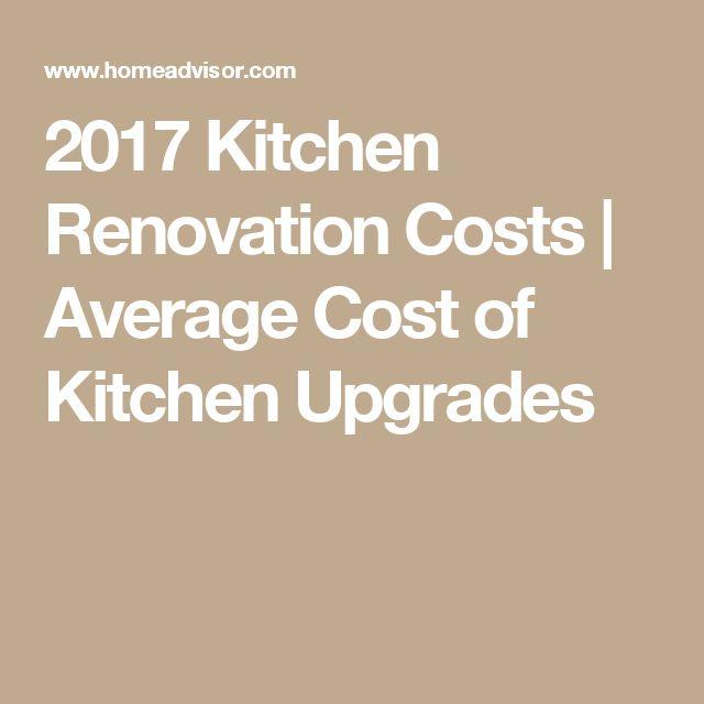 Kitchen Renovation Expenses: Best 25+ Kitchen Renovation Cost Ideas On Pinterest
