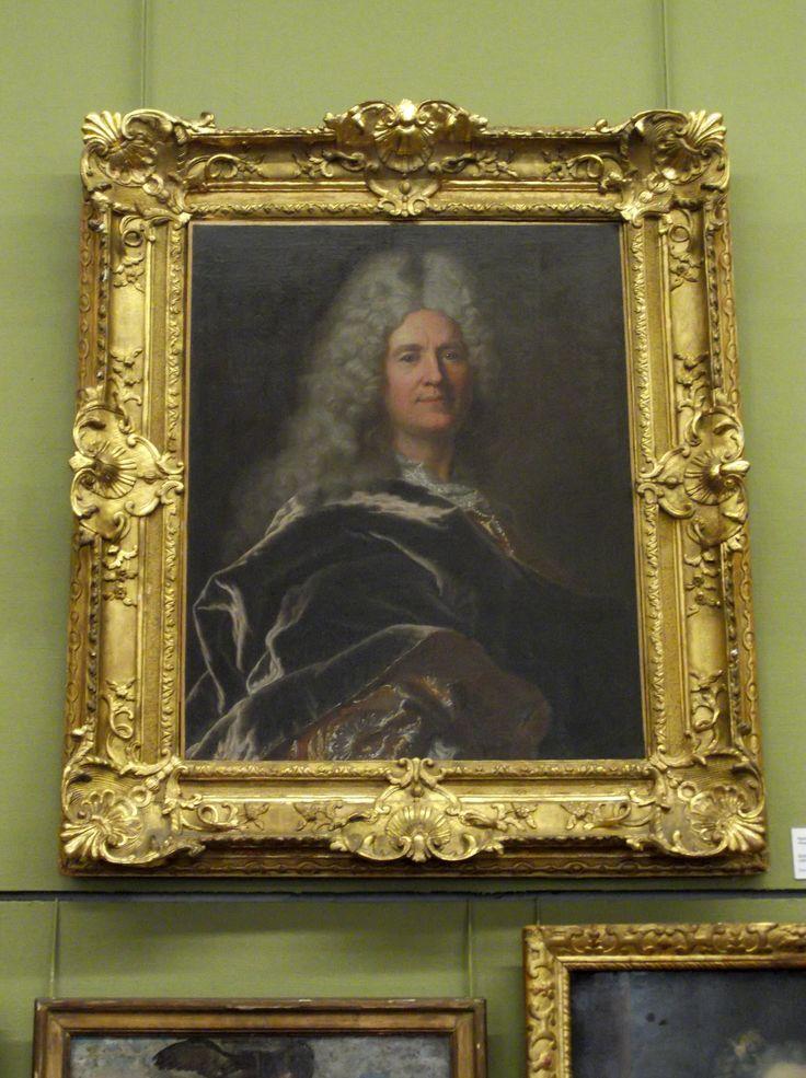 Hyacinthe Rigaud (1659-1743), portrait du marchand-fabricant de draps Guillaume IV Castanier  (Carcassonne 1670 - 1725). Musée des beaux-arts de Carcassonne. Photo: Chroniques de Carcassonne
