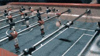 フットボールのテーブルゲームで超ウルトラ必殺シュート | A!@attrip