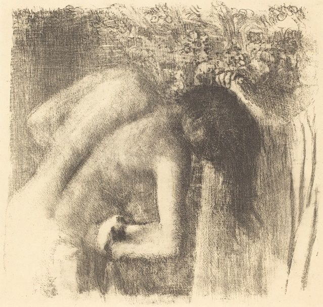 Edgar Degas | After the Bath (La sortie du bain (Grand planche)) (ca. 1891) | Artsy