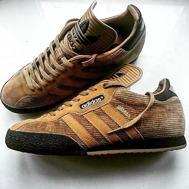 adidas brown samba