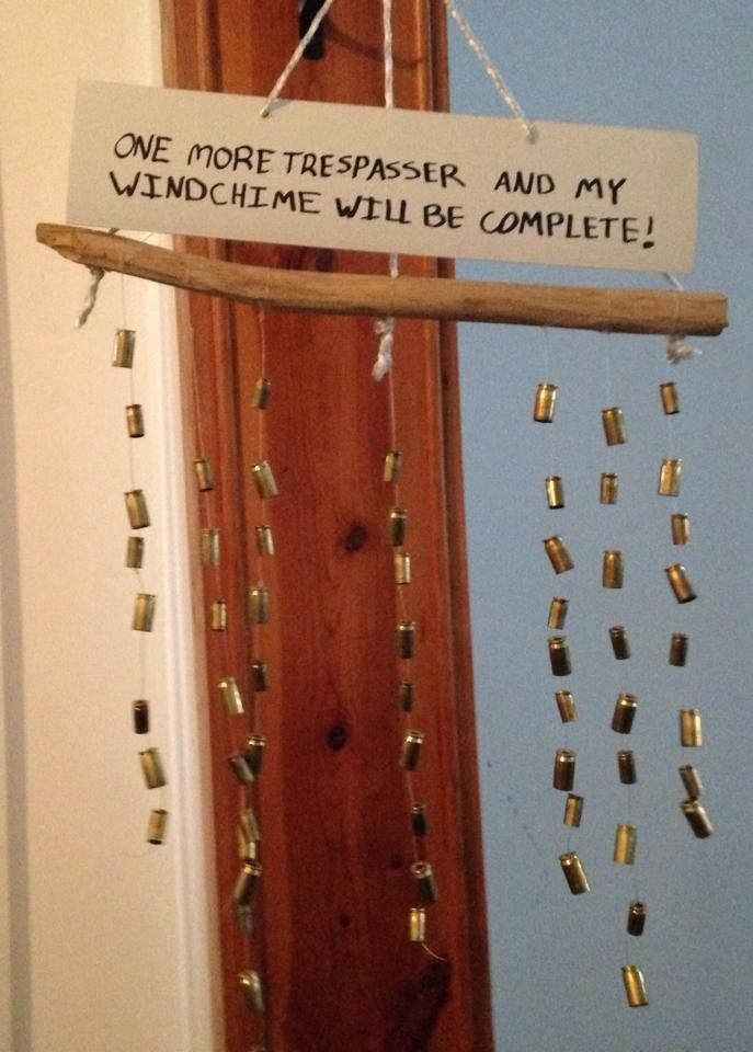 Wind Chime Gun Shells Gun Bullet Shotgun Shell