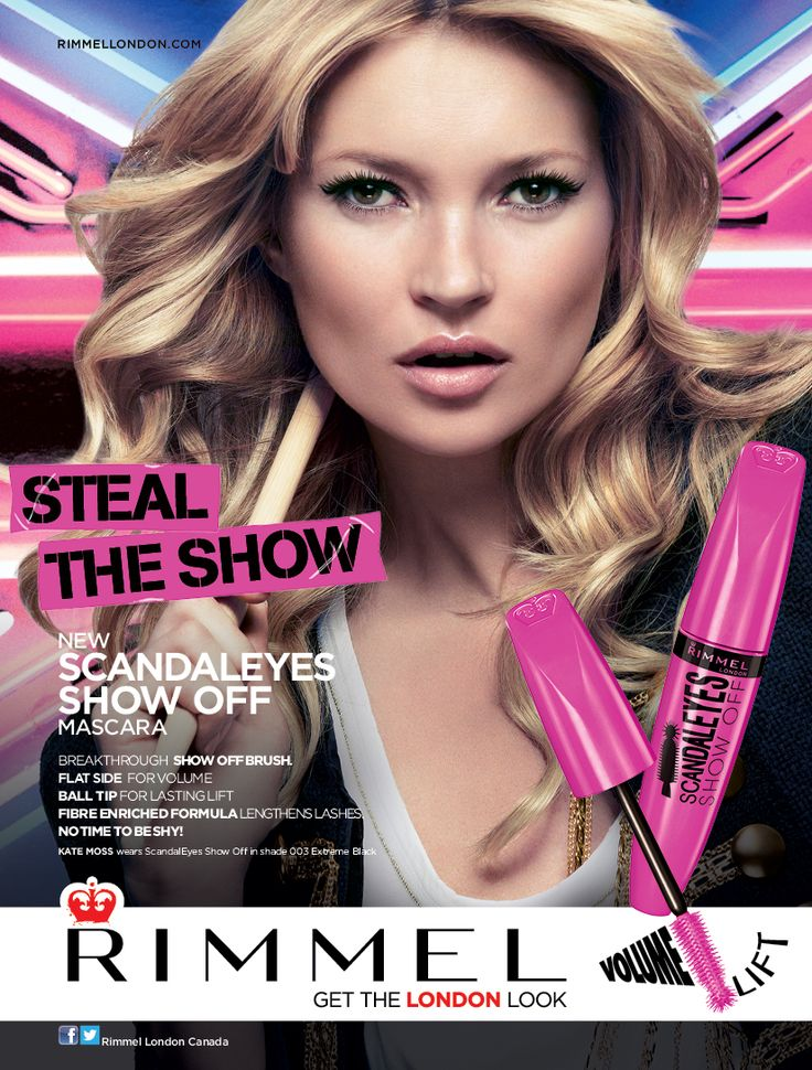 scandaleyes SHOW OFF MASCARA PRINT AD - RIMMEL LONDON ...