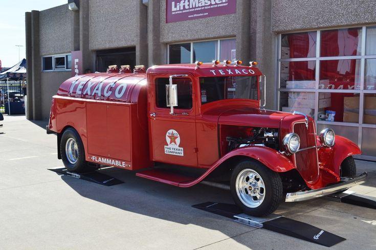 Even tanker trucks were cool back then. TEXACO Hotrod Tanker...