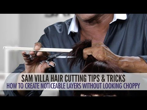 How to cut layers without making them look choppy - YouTube