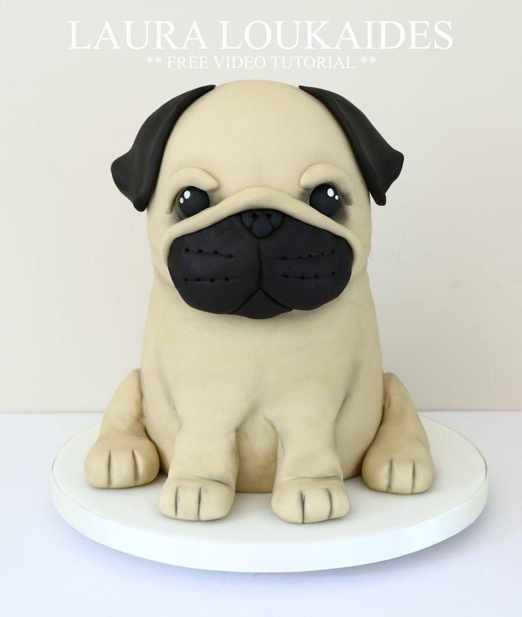 How To Make A Novelty Pug Cake
