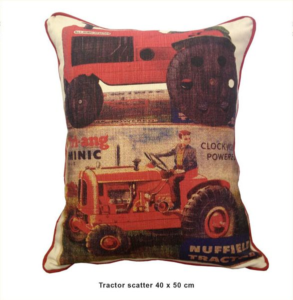 Sillybilly scatter Tractor