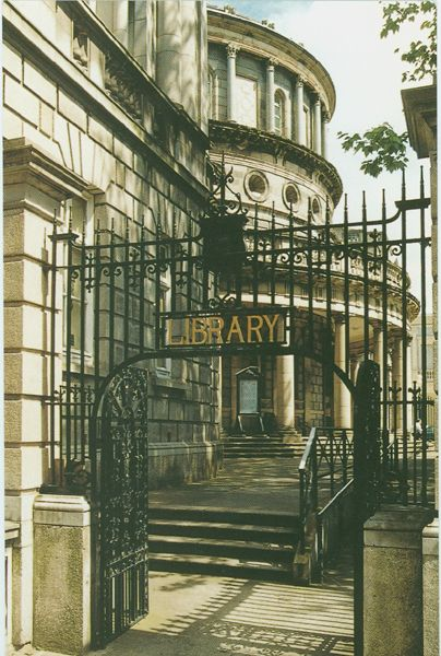 National Library of Ireland, Dublin... what a great place to pick up a new read!
