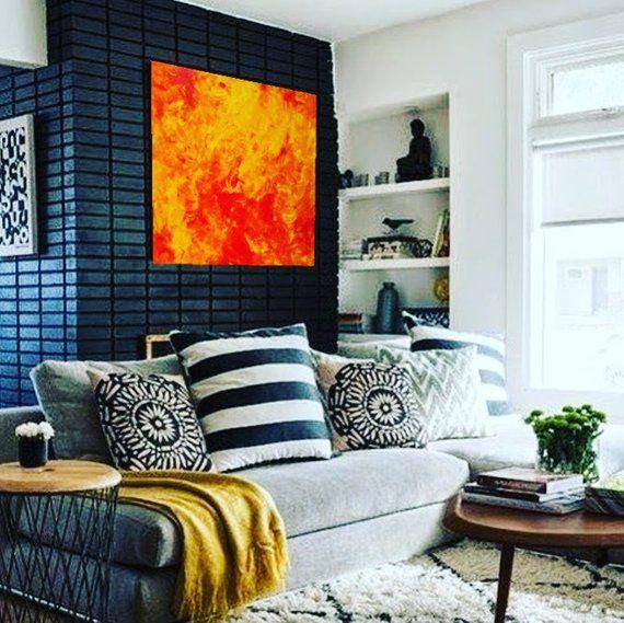 Phoenix Rising Canvas Gallery Wraps   Living room decor ...