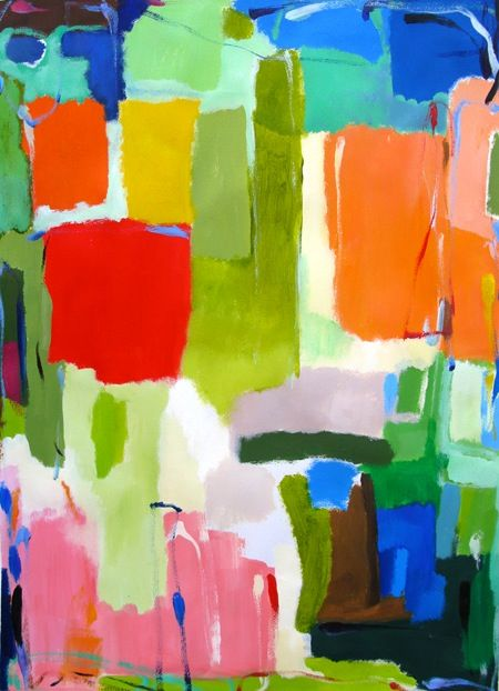 Urban Essay No. 3 by Kim Parker - acrylic on paper, 22'' X 30'': Colour, Abstract Art, Colors Art, Amazing Colors, Knights Moving, Abstract Paintings, Colors Fabrics Texture, Kim Parker Art, Colors 2