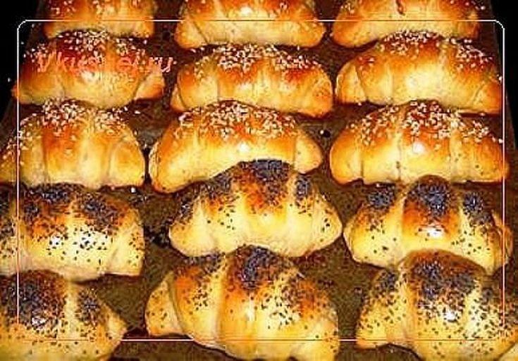 Рогалики - оригинальный рецепт выпечки на кефире, готовить просто, получаются рогалики очень вкусные. Кунжут и мак придают пикантности,  Рецепт здесь »>... - Олег Клочков - Google+