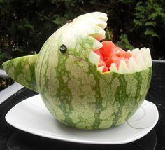 Melonen-Hai - in 15 Minuten fertig :-)