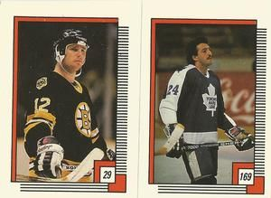 1988-89 O-Pee-Chee Stickers #169 Dan Daoust Front