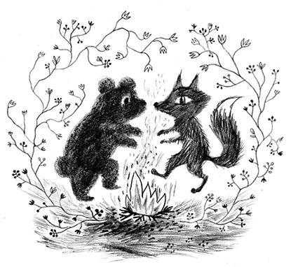 Valentine Day Dancing illustration by Emmi Jormalainen