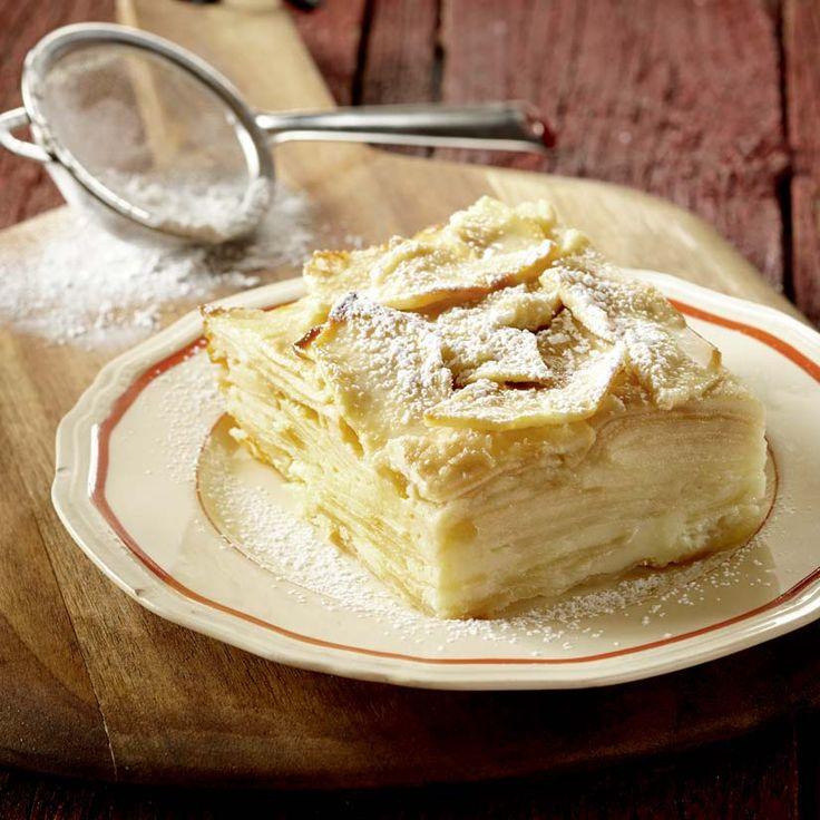 10. Gâteau invisible aux pommes et à la vanille - Nos 10 recettes les plus populaires en 2016
