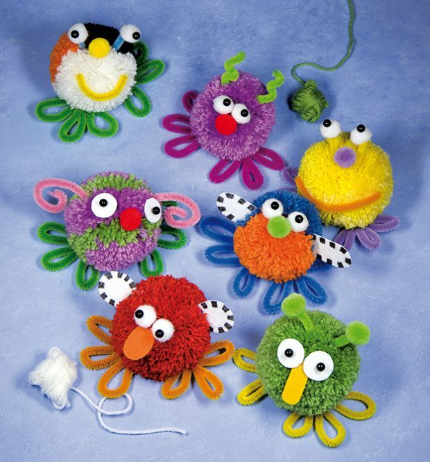 Pom Pom Monsters | TOPP                                                                                                                                                      Mehr