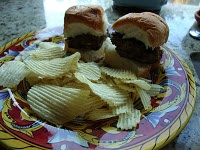 great way to start your Super Bowl Party Off! A slider stuffed w ...