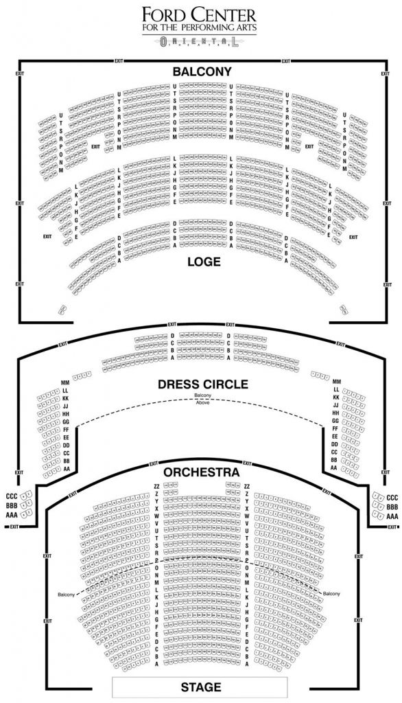 The Most Amazing Oriental Theater Seating Chart In 2020 Theater Seating Seating Plan Seating Charts