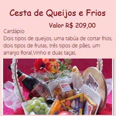 Chocolates Delícias de Amor: CESTA CAFÉ DA MANHÃ -  RESENDE/RJ