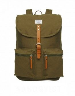#SANDQVIST Roald - Olive #DistrictConceptStore Xar. Trikoupi 34-36 Ioannina #Greece Authorised retailer of Snadqvist Backpacks in Greece. Shipping to Europe. The place you meet the new #trends #fashion, #style