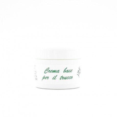 Crema studiata appositamente per il make-up, bianca, compatta e asciutta.Perfetta per make up di lunga durata.