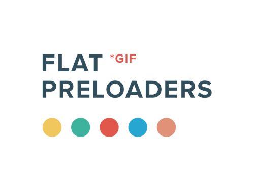 busy indicators, progress bar, waiting bar | http://pixelbuddha.net/freebie/flat-preloaders