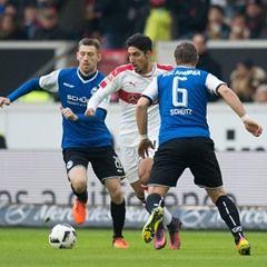 German Bundesliga Football - VfB Stuttgart vs Arminia Bielefeld