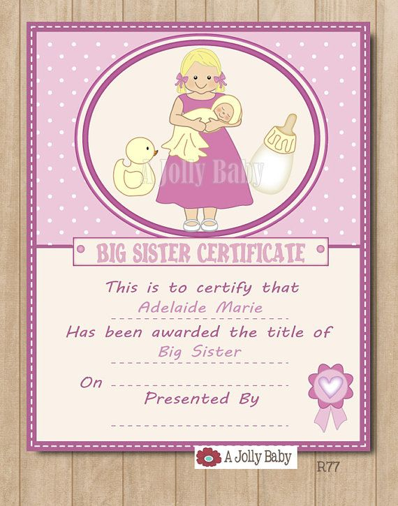 12 best Kids images on Pinterest | Big sisters, Siblings and Baby gifts
