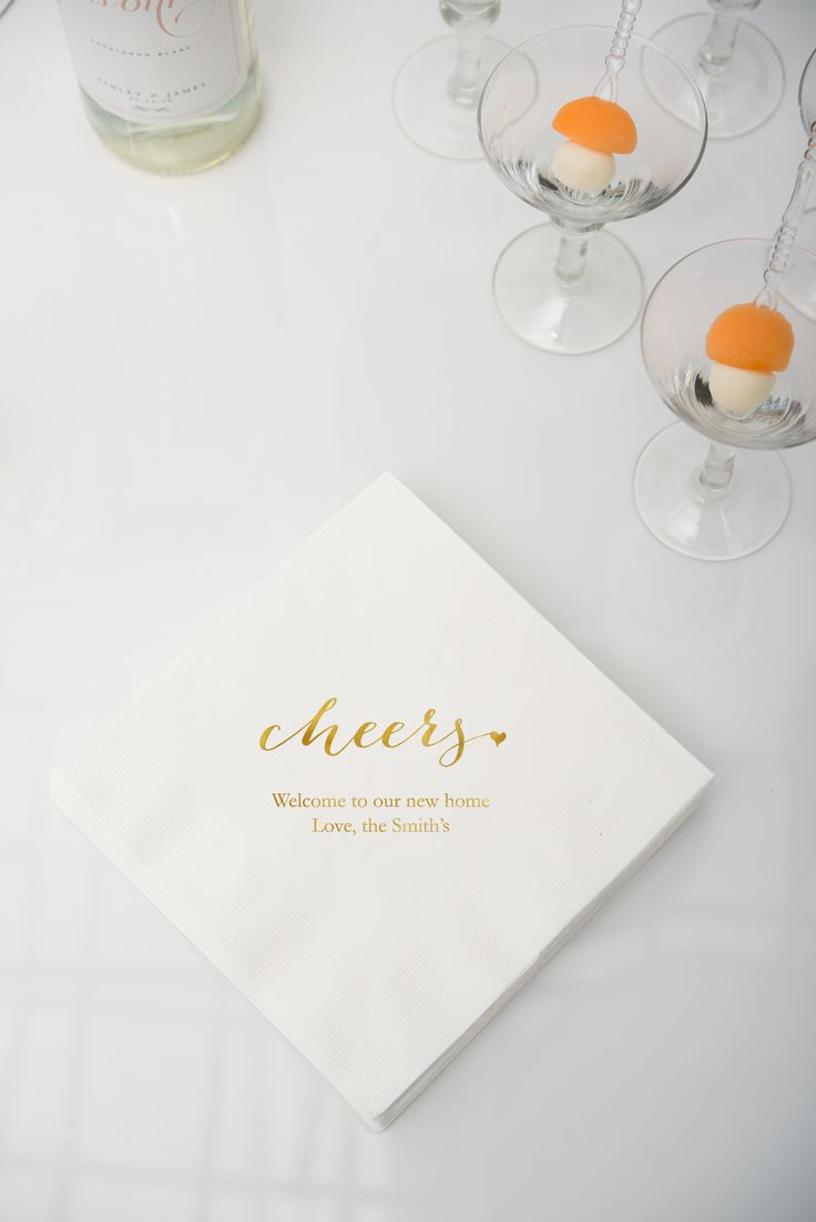 Custom printed personalised napkins. are all about celebrating and ideally suited for a wide range of special occasions. Choose from a wide range of designs and lettering to make your wedding or event perfect!
