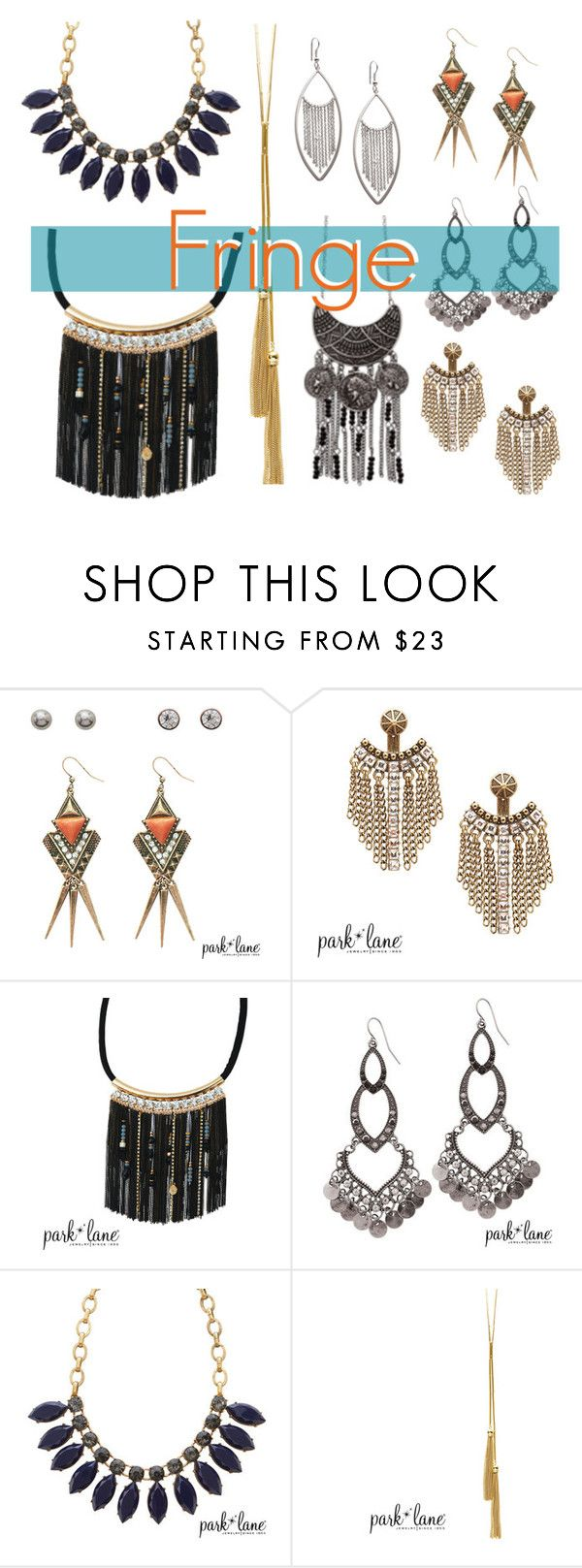 """The Fringe Goes On"" by parklanejewelry on Polyvore"