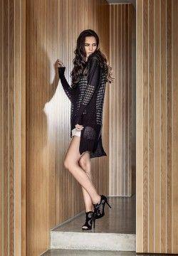 100% Merino Alexandra Hooded Cape. Luxury limited edition knitwear www.elkaknitwear.co.nz