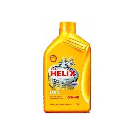 Λιπαντικό Αυτοκινήτου Shell Hellix HX5 15W40 1 lt