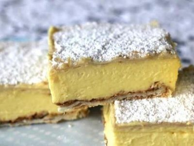 Vanilla Slice recipe