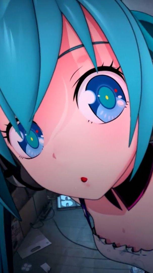 Cute Girl Crying Wallpaper Big Eyes Cute Anime Girl Iphone Wallpaper Iphone