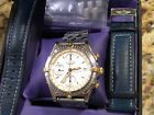 BREITLING  CHRONOMAT B13050 STAINLESS STEEL AND GOLD MEN'S WATCH