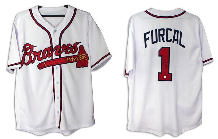 Rafael Furcal Atlanta Braves Autographed White Jersey with COA