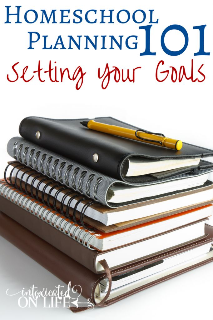 Check out this 3 part series on Homeschool Planning! First up in the series: Setting your goals. @ IntoxicatedOnLife.com #Homeschool #Planning
