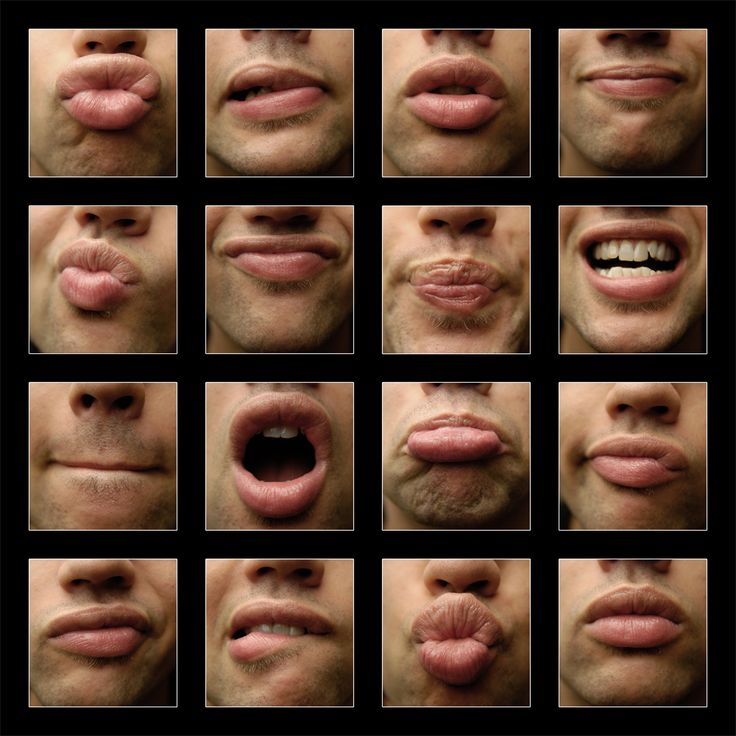 well, these are only lips...