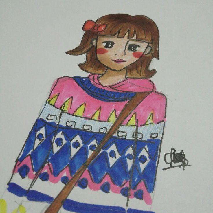 #fashion #sketch #drawing #copic #illustration #designer #girl #ribbon #pink #kimbookjo #korean #leesungkyung #weightlifhtingfairy