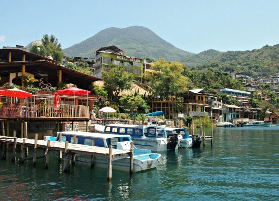 Antigua to San Pedro La Laguna Lake Atitlan Guatemala via @worldtravelfam/