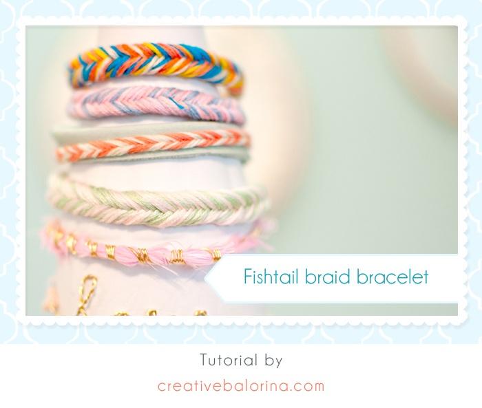 fishtail bracelet tutorial - photo #2