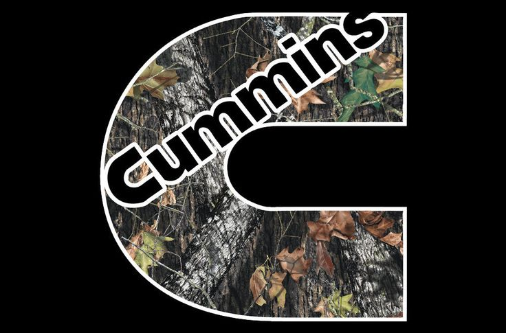 Dodge Cummins Decal Turbo Diesel Ram Truck Window Vinyl Sticker 4x4 Oak Camo 3m247skins