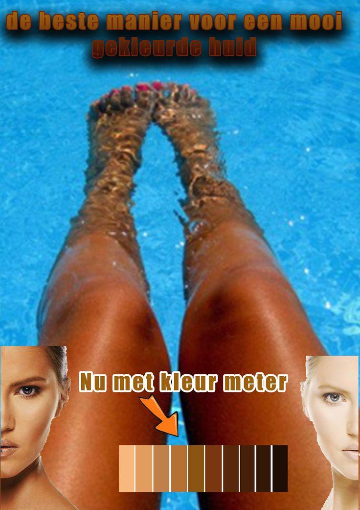 hier is het thema bruine huid