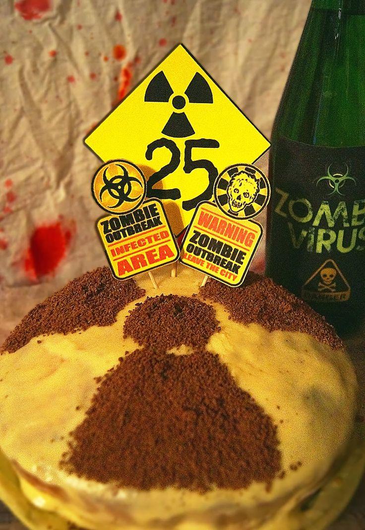 My Cake zombie party!