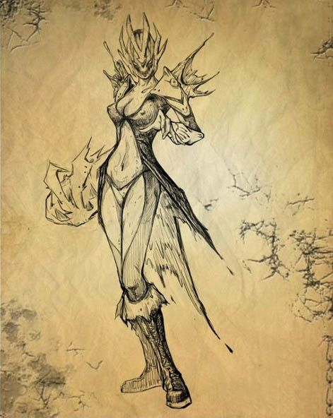DOTA 2 Vengeful Spirit Sketch